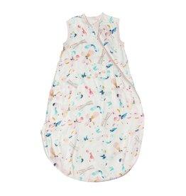 Loulou Lolipop Muslin Sleeping Bag, Butterfly 3-12M