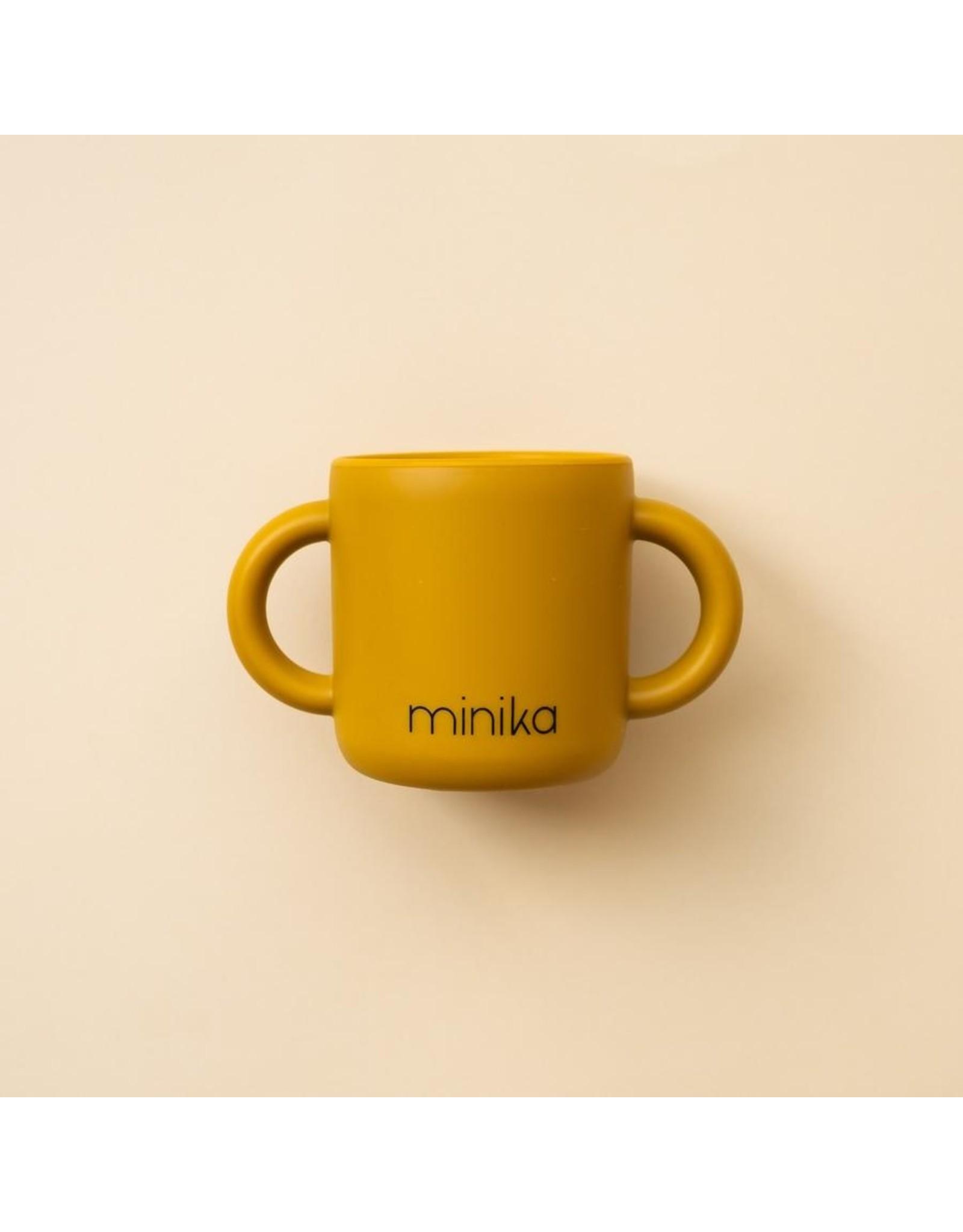 Minika Minika Tasse D'apprentissage Avec Poignées Ocre