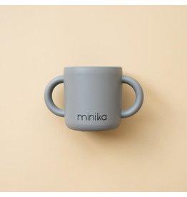 Minika Minika Tasse D'apprentissage Avec Poignées Stone