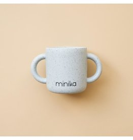 Minika Minika Tasse D'apprentissage Avec Poignées Ice