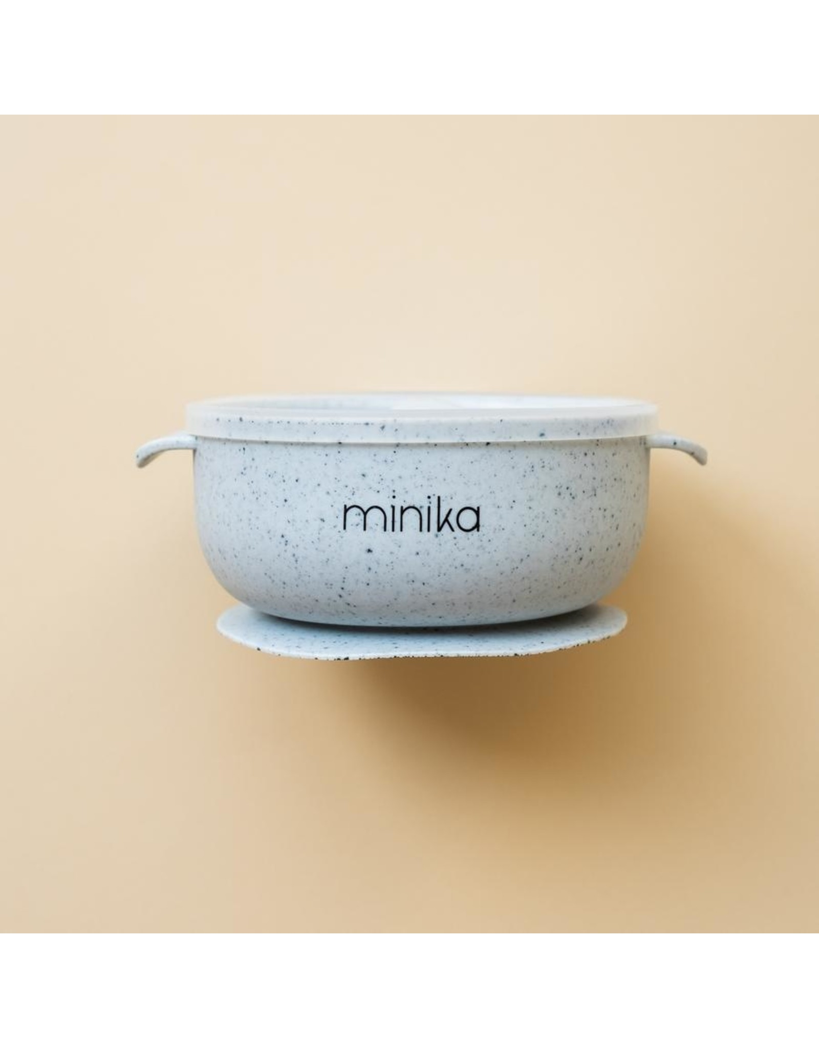 Minika Minika, Bol En Silicone Avec Couvercle Ice