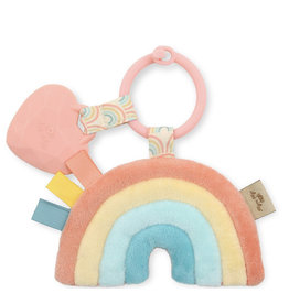 Itzy Ritzy Itzy Pal Plush + Theeter-Rainbow