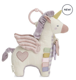 Itzy Ritzy Link And Love Pegasus Activity Plush + Theeter