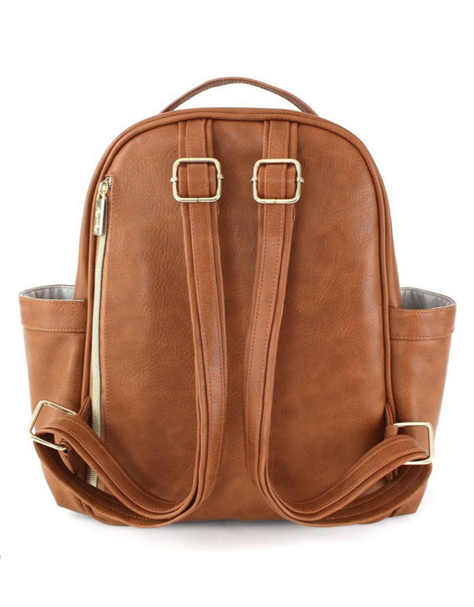 Itzy Ritzy Itzy Ritzy, Diaperbag Backpack, Cognac
