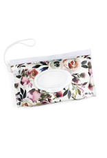 Itzy Ritzy Itzy RItzy Reusable Wipes Pouch, Blush FLoral