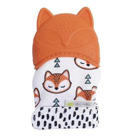 Itzy Ritzy Itzy Ritzy Silicone Mitt Teetheing Fox