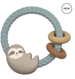 Itzy Ritzy Itzy Ritzy Silicone Teether Rattles Sloth