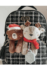 Itzy Ritzy Itzy Ritzy Holiday Bear Plush Theeter Toy
