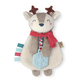 Itzy Ritzy Itzy Ritzy Holiday Reindeer Plush Teether Toy