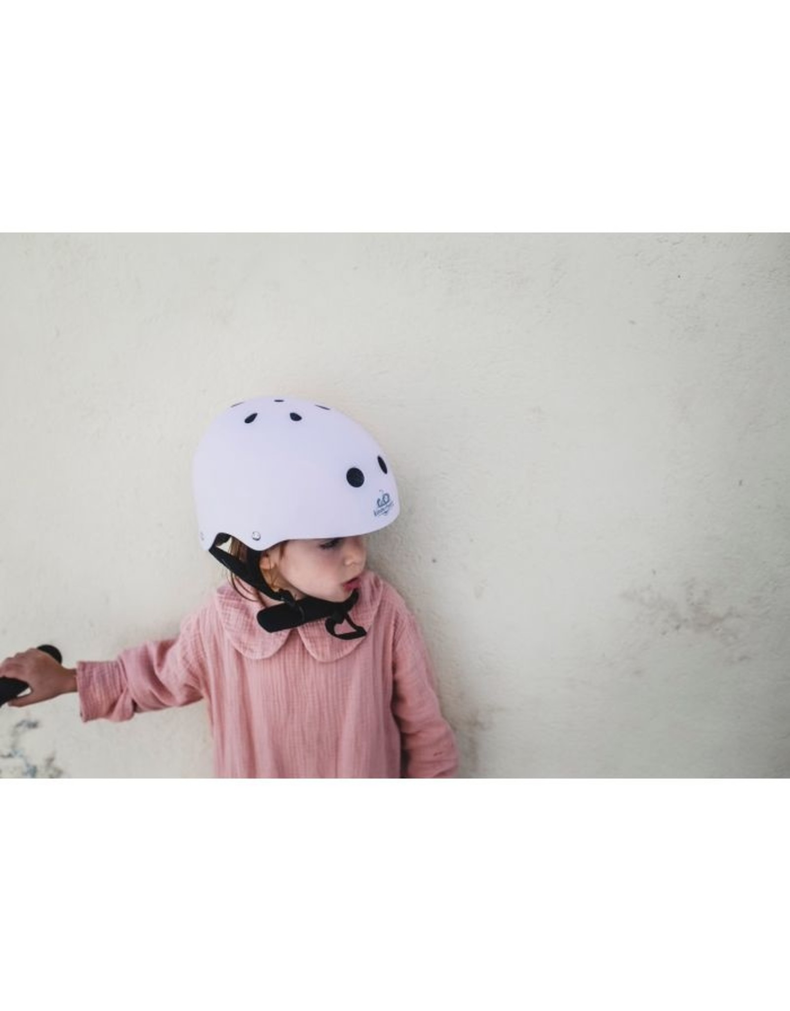Kinderfeets Kinderfeets Helmet, Matte Rose