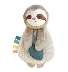 Itzy Ritzy Itzy Ritzy, Sloth Plush With Silicone Teether Toy
