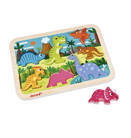 Janod Janod, Puzzle Chunky, Dinosaures