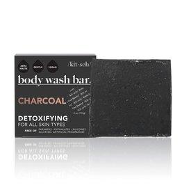Kitsch Charcoal Detoxifying Body Wash Bar