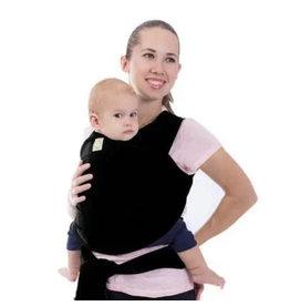 KeaBabies, Baby Wrap Carrier, Black