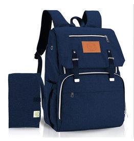 KeaBabies, Explorer Diaper Backpack, Navy Blue