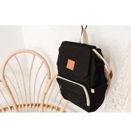 Little Love Bug, Next Stage Backpack Diaper Bag, Black
