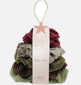 Kitsch Holiday Scrunchies- Cozy Cocoa