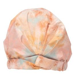Kitsch Luxe Shower Cap-Sunset Tie Dye