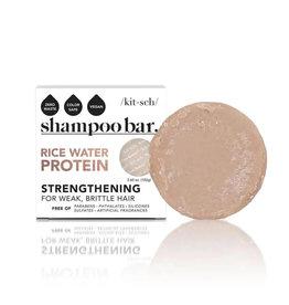 Kitsch Rice Water Protein Shampoo Bar-Strengthening