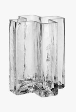 Crosses vase by Bodil Kjaer | Clear | H19.5cm