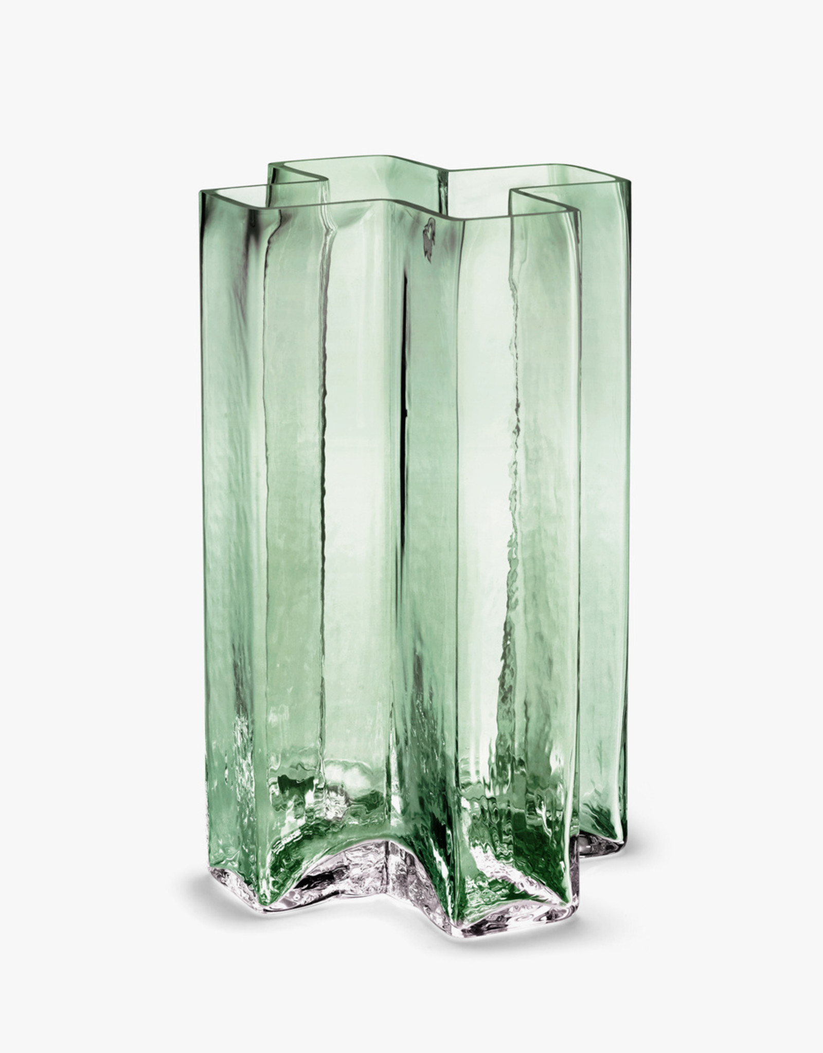 Crosses vase by Bodil Kjaer | Green | H195mm