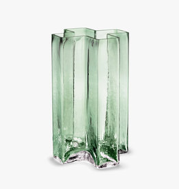 Crosses vase by Bodil Kjaer | Green | H19.5cm
