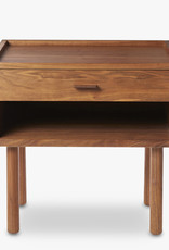 GE 430 bedside table by Hans J. Wegner | Oiled walnut | 1 drawer