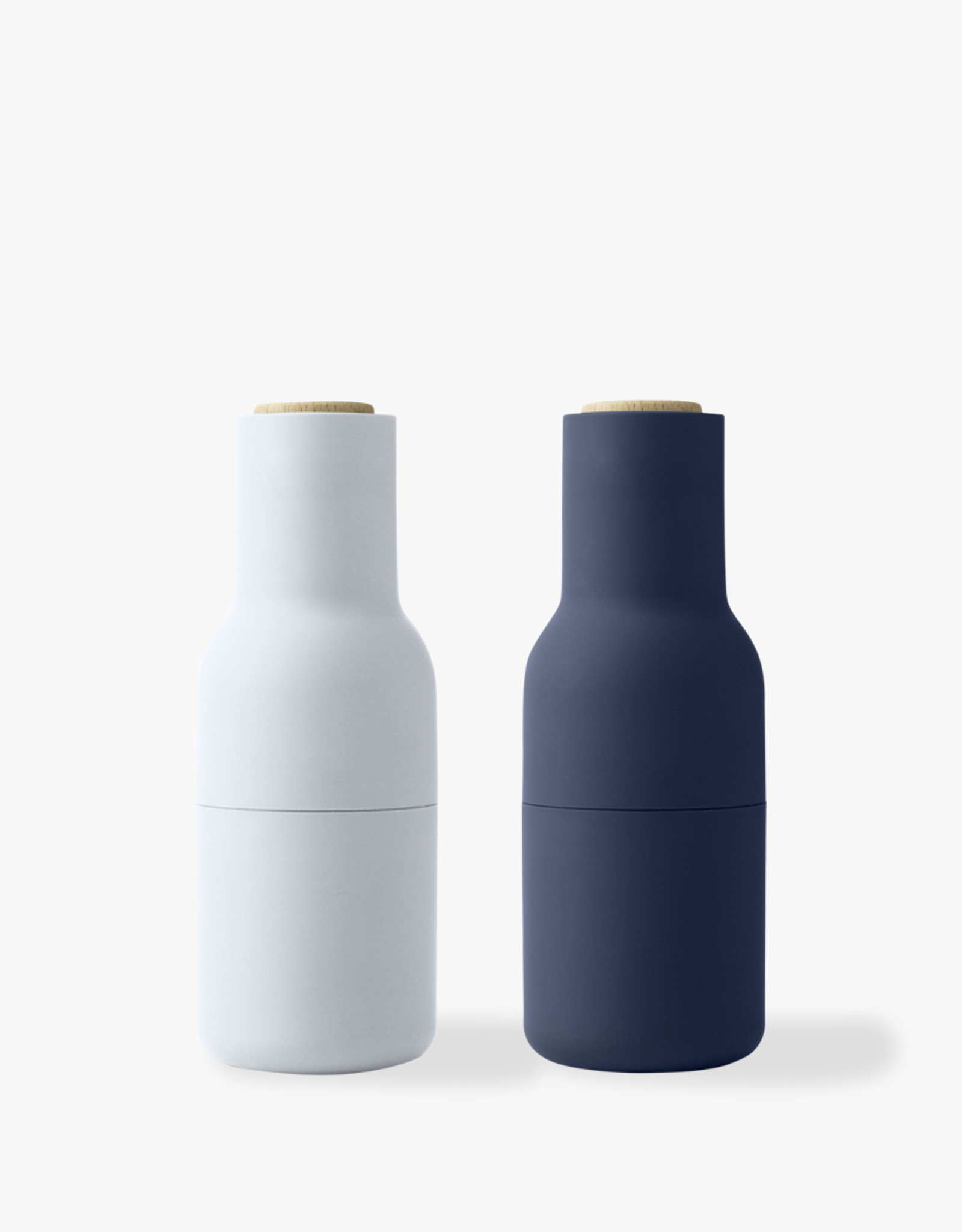 Bottle Grinders set by Norm Architects | Blues | Beech lid