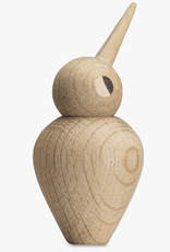 Small bird by Kristian Vedel | Natural oak