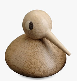 Chubby bird by Kristian Vedel | Natural oak