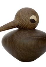 Chubby bird by Kristian Vedel | Smoked oak