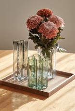 Crosses vase by Bodil Kjaer | Smoked | H25cm