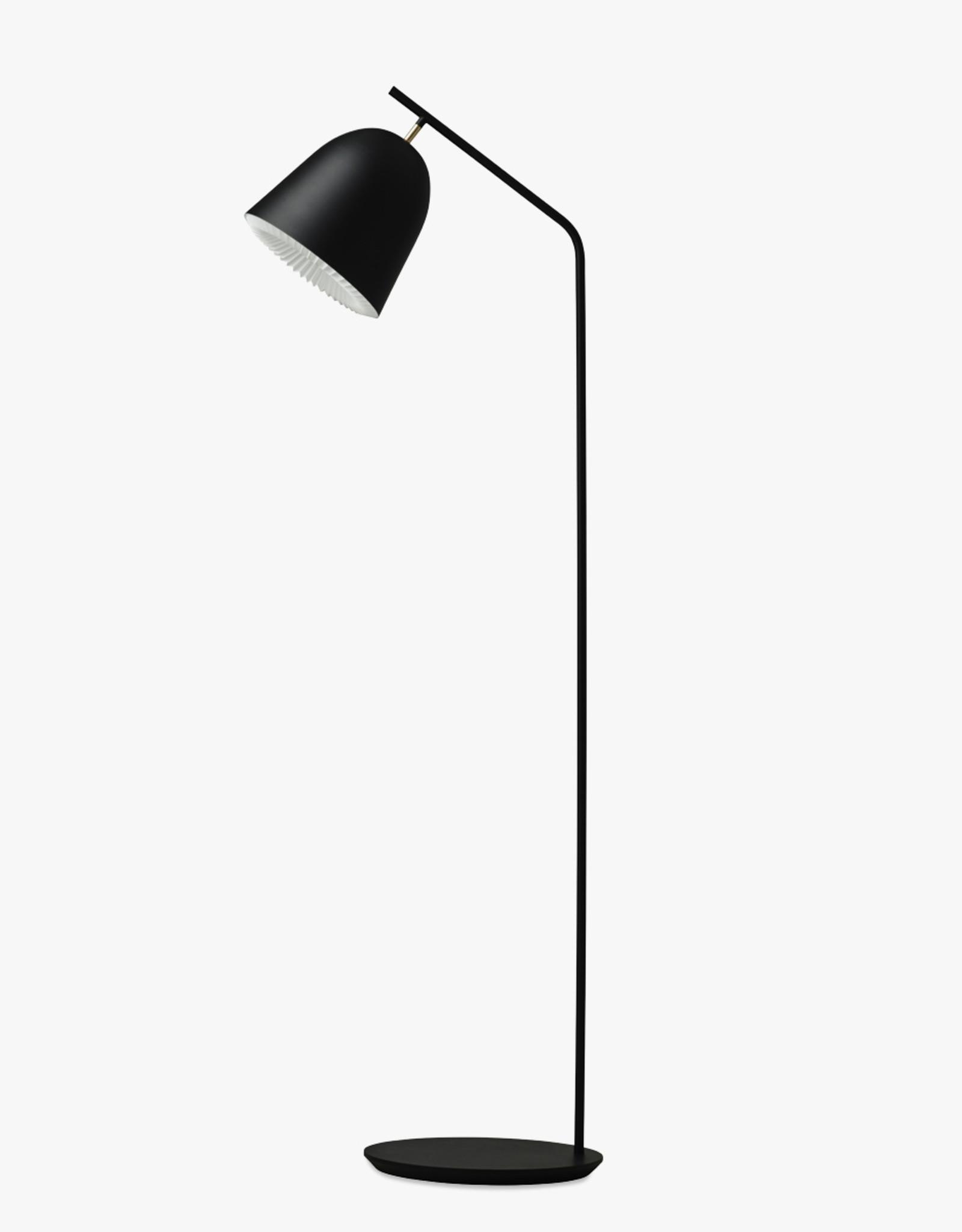 Caché floor light by Aurelién Barbry | Black | W30cm x D45cm x H130cm | 1x E27 600 LM max. 20W LED bulb required