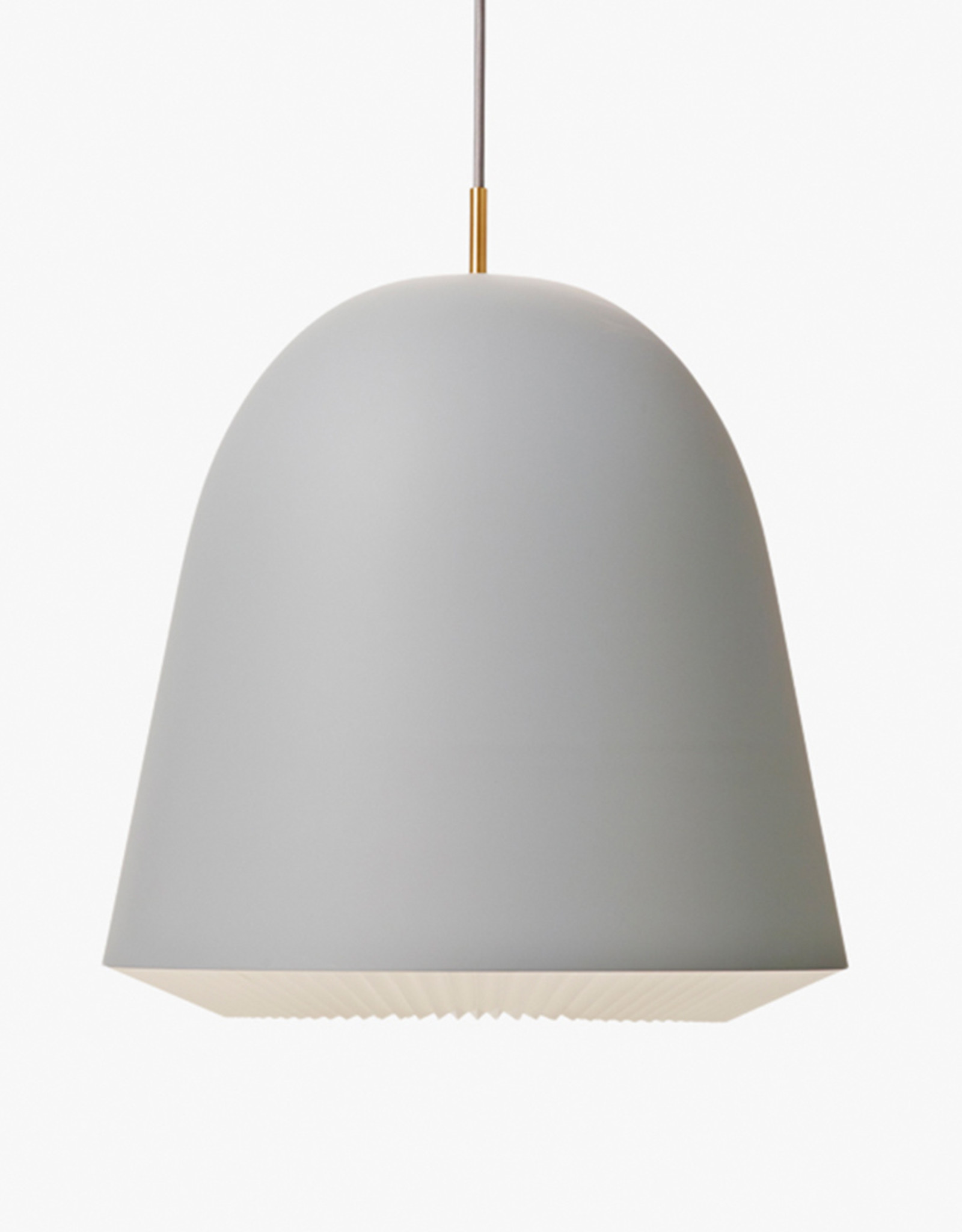 Caché pendant light by Aurelién Barbry | Grey | L | W40cm x H42cm | 1x E27 1200 LM max. 20W LED bulb required