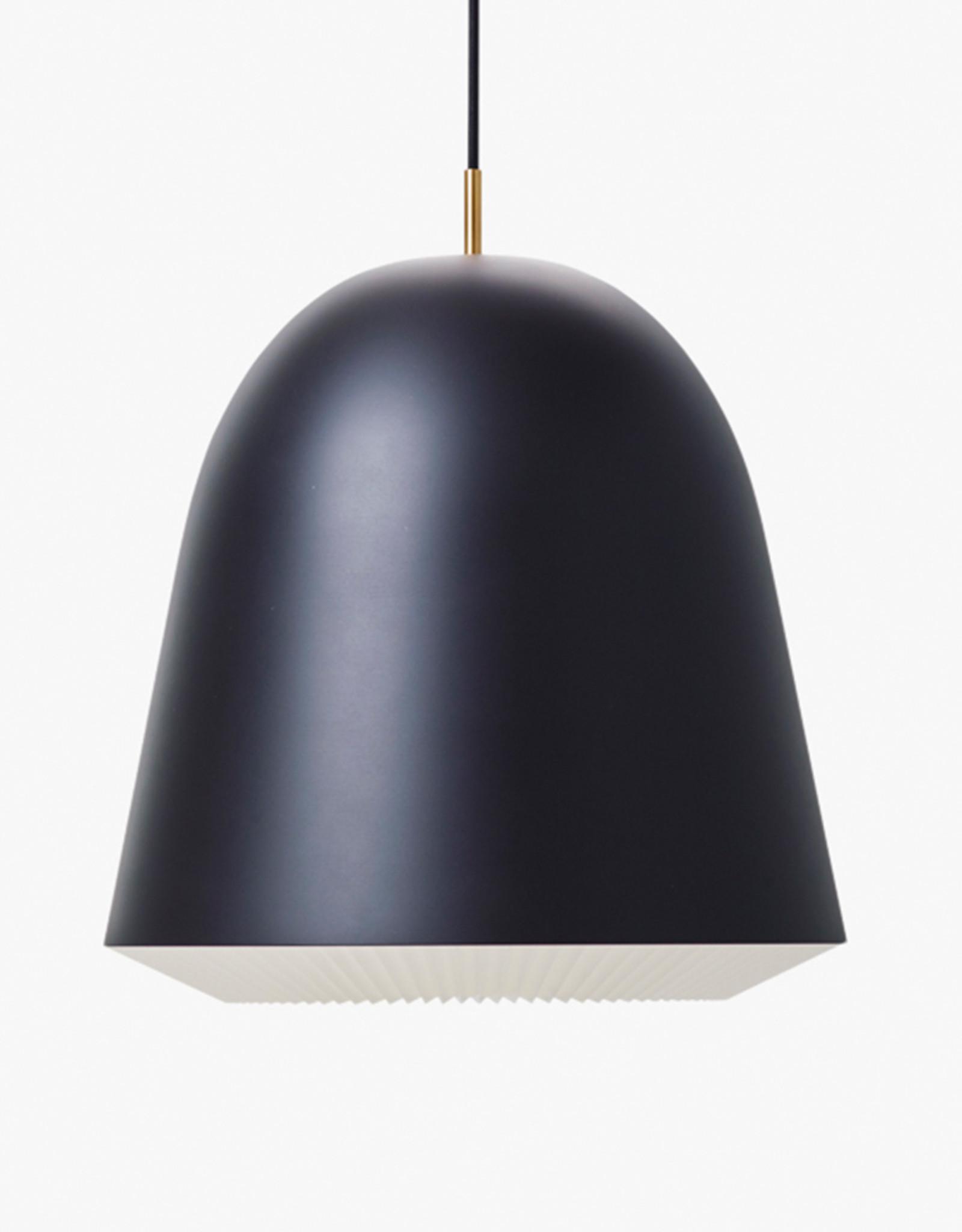 Caché pendant light by Aurelién Barbry   Black   L   W40cm x H42cm  1x E27 1200 LM max. 20W LED bulb required