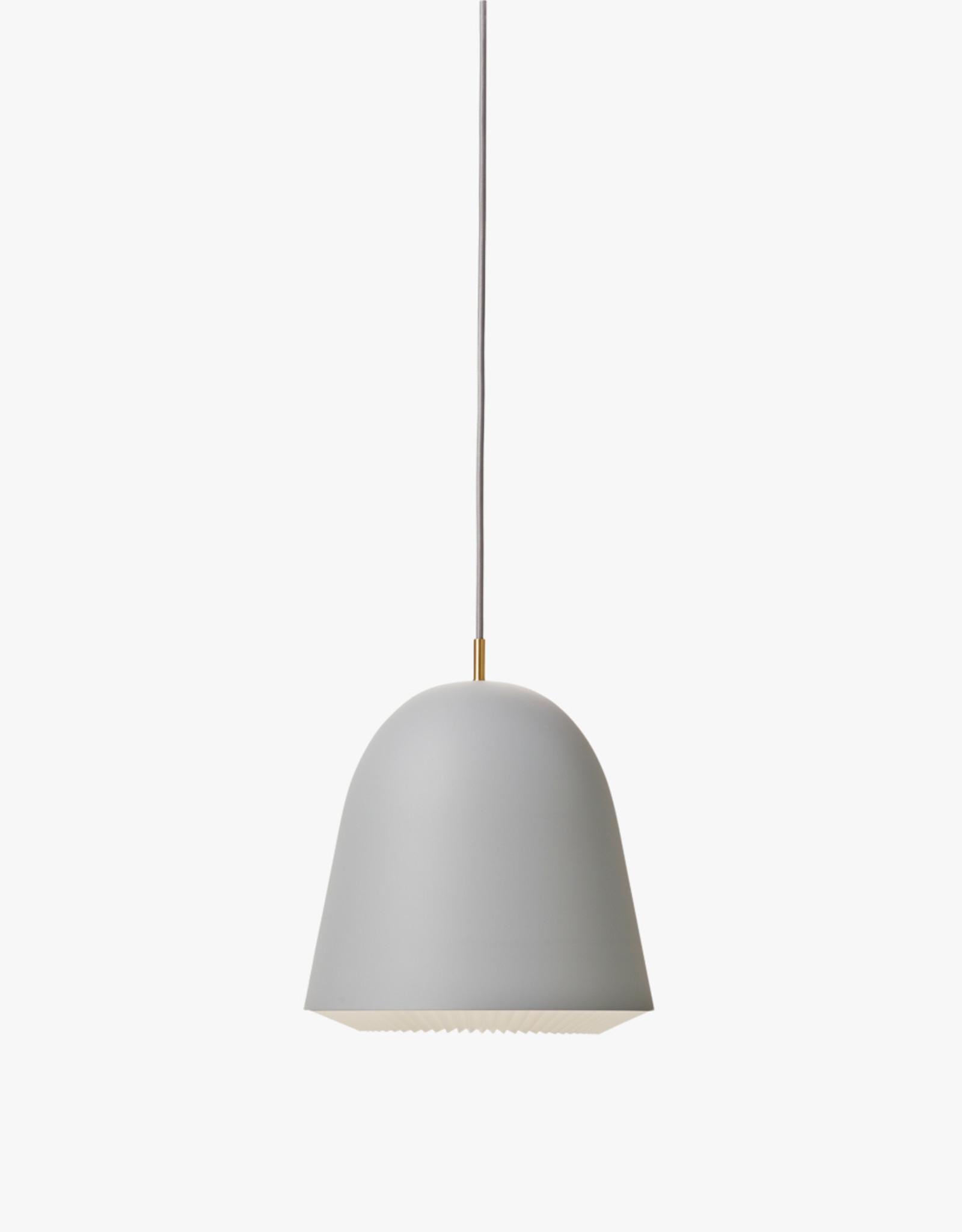 Caché pendant light by Aurelién Barbry | Grey | S | W20cm x H21cm | 1x E27 600 LM max. 20W LED bulb required