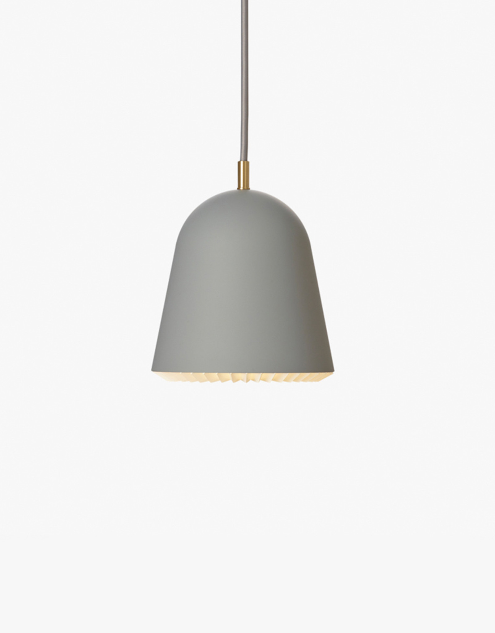 Caché pendant light by Aurelién Barbry | Grey | XS | W16cm x H15cm | 1x E14 420 LM max. 10W LED bulb required