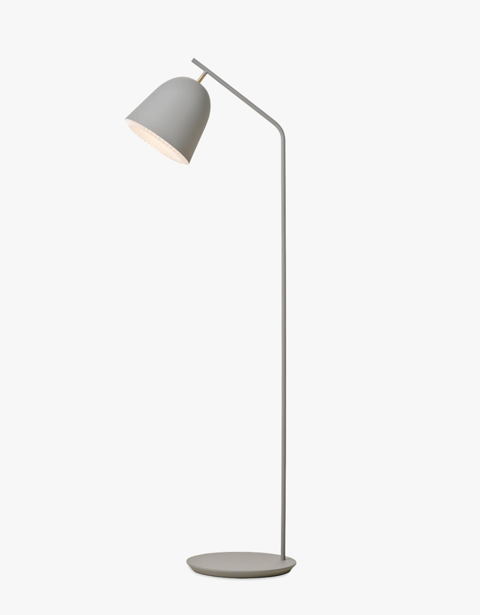 Caché floor light by Aurelién Barbry | Grey