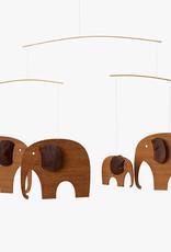 Flensted Elephant Party mobile by Ole Flensted | Teak