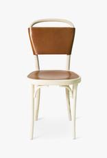 Vilda 3 chair by Jonas Bohlin | Cognac Tärnsjö leather | White oiled ash frame | SH470mm