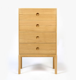 Entre 3B by Risskov | Lacquered oak