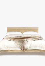 Great Dane Bed | Double | Matt lacquered oak