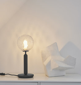 Nuura Miira table light by Sofie Refer | Rock grey/optic clear