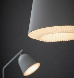 Caché pendant light by Aurelién Barbry   Grey   S   W20cm x H21cm   1x E27 600 LM max. 20W LED bulb required
