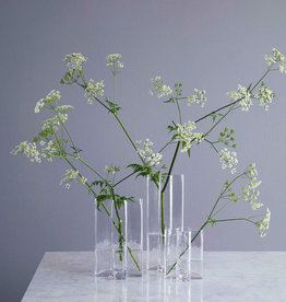 Crosses vase by Bodil Kjaer | Clear | H250mm