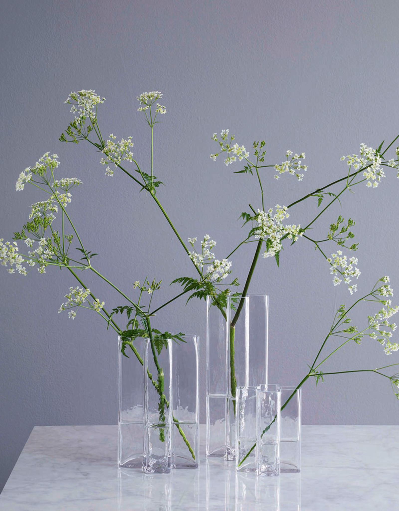 Crosses vase by Bodil Kjaer | Clear | H195mm
