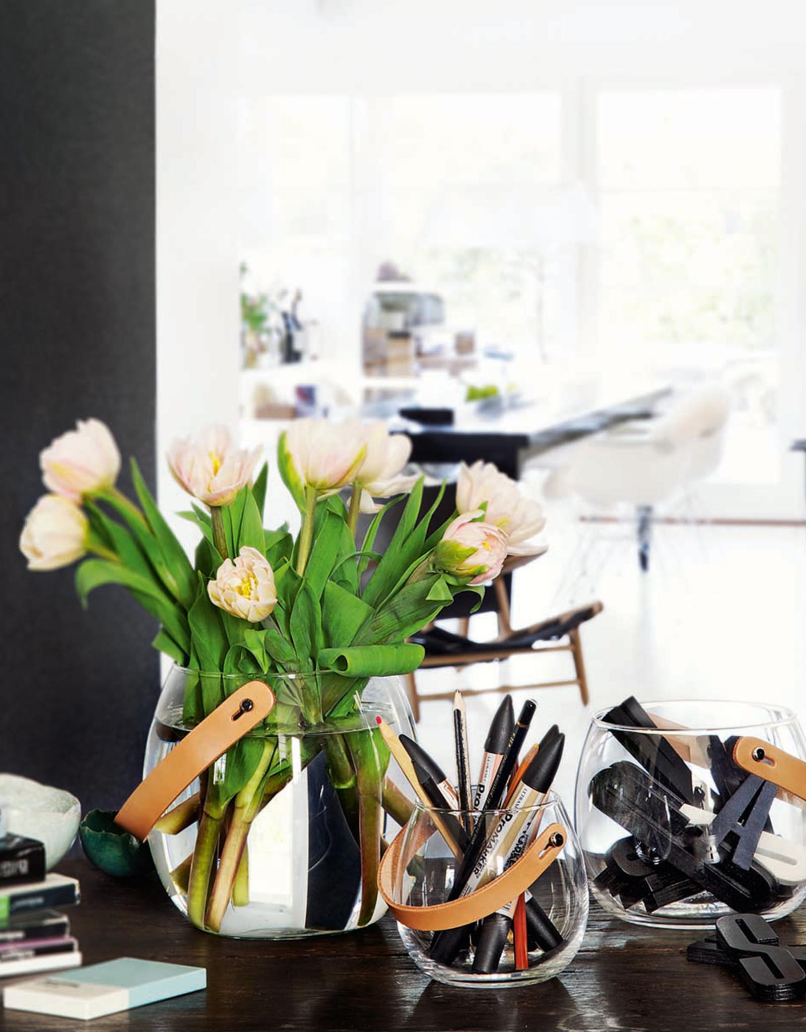Design with Light Jar by Maria Berntsen | Clear | H16cm