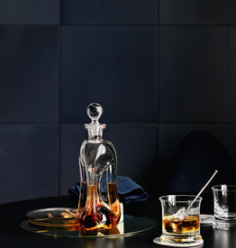 Klukflaske spirits bottle by Holmegaard | Clear | H270mm