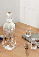 Klukflaske spirits bottle by Holmegaard | Clear | H270mm