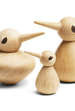 Chubby bird by Kristian Vedel | Natural oak
